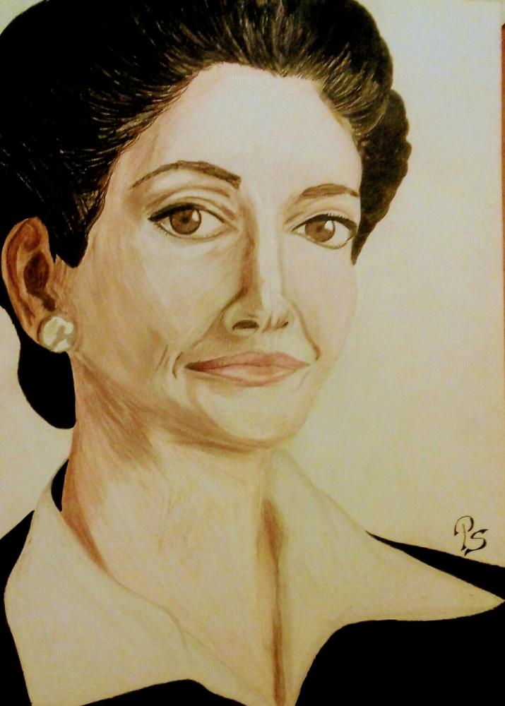 Maria Callas par PenStilos
